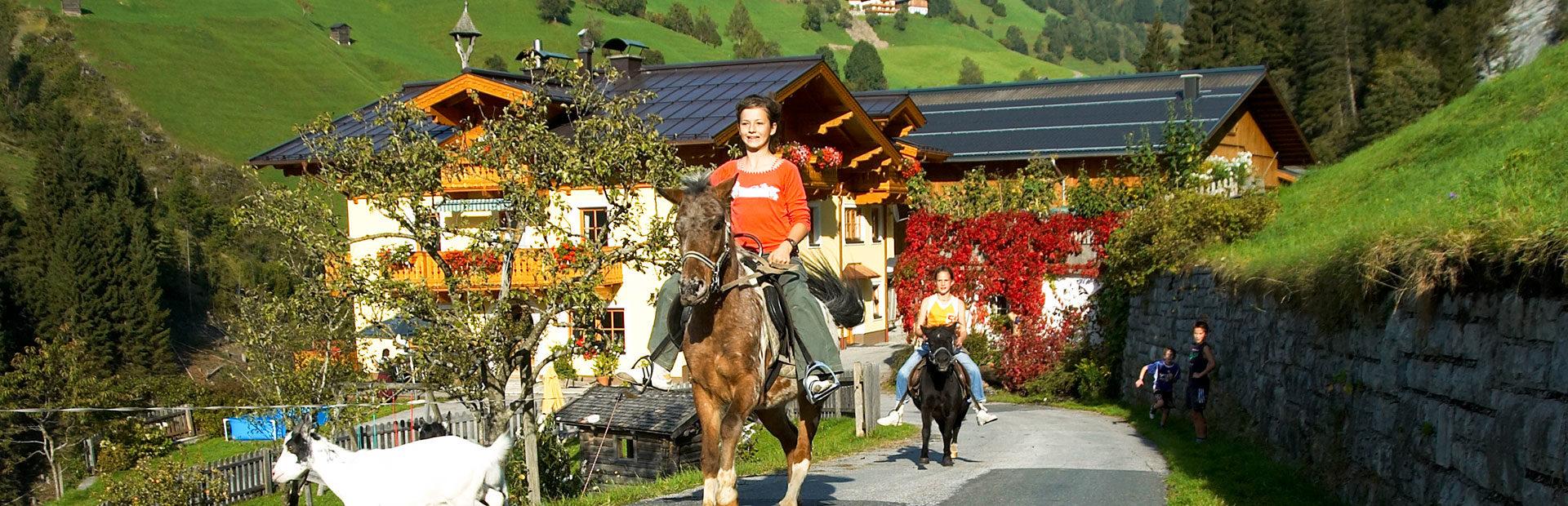 Familienurlaub in Salzburg, Großarl