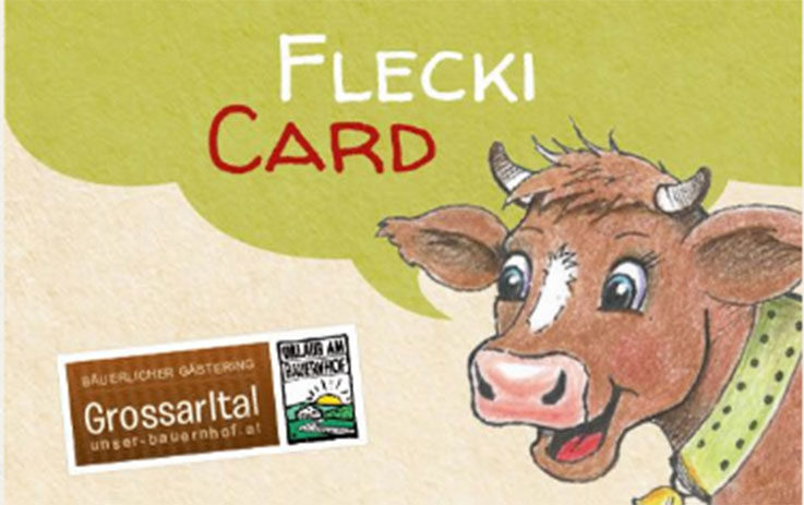 Flecki Card Sommerurlaub Grossarl Platzhalter