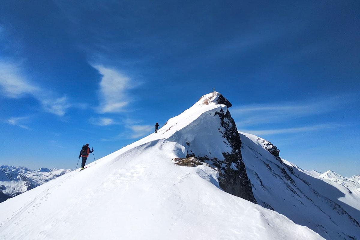 Skitour Frauenkogel, Grossarltal