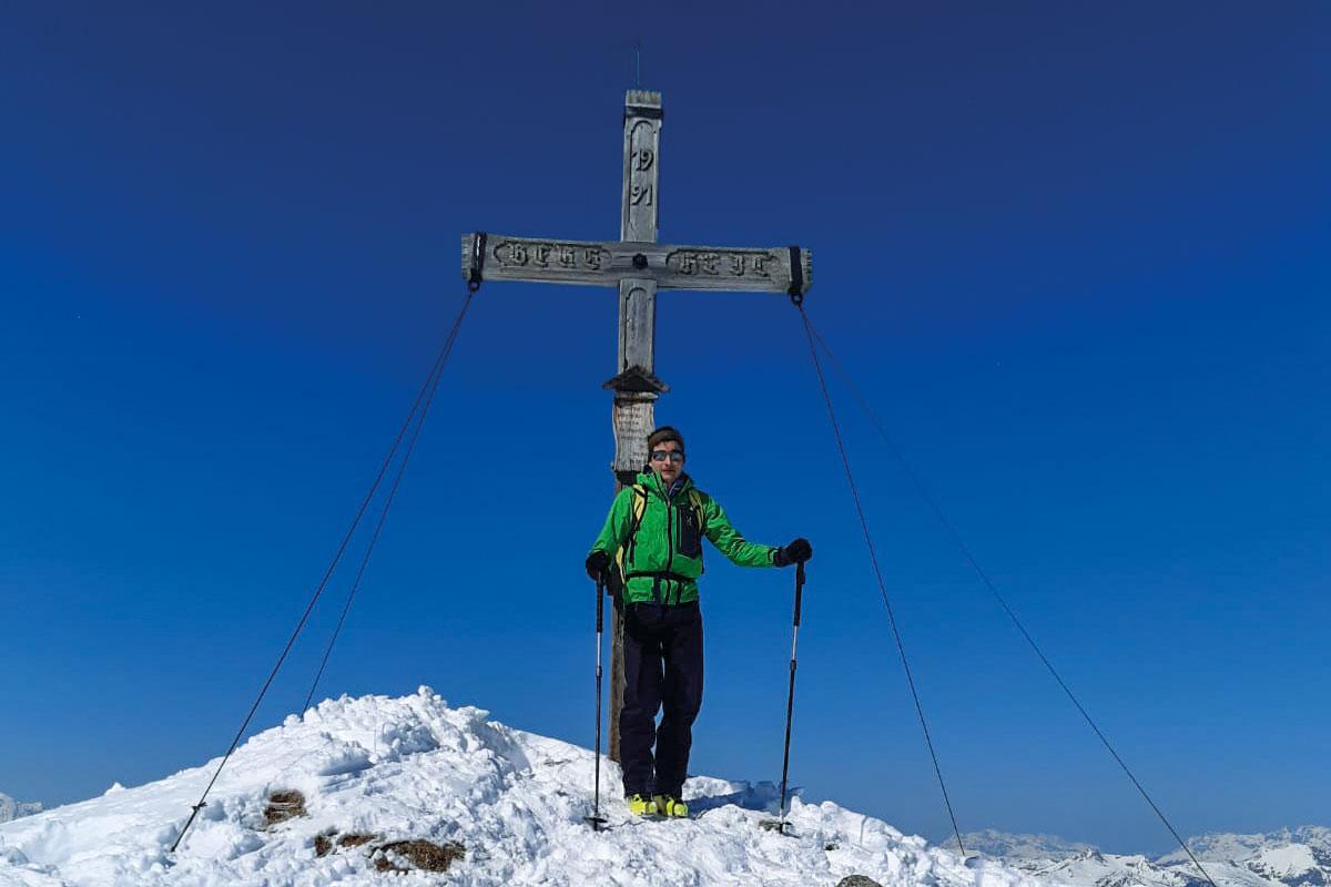 Skitour Klingspitz, Grossarltal