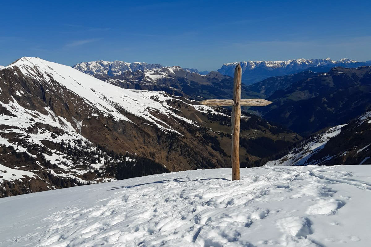 Skitour Kreuzkogel, Toferalm, Grossarltal