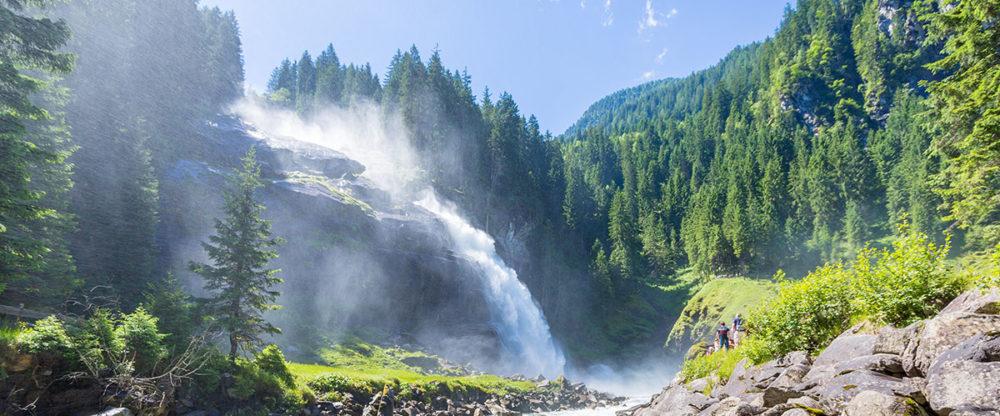 Pfandlinghof Grossarl, Ausflugsziele Salzburger Land, Krimmer Wasserfaelle