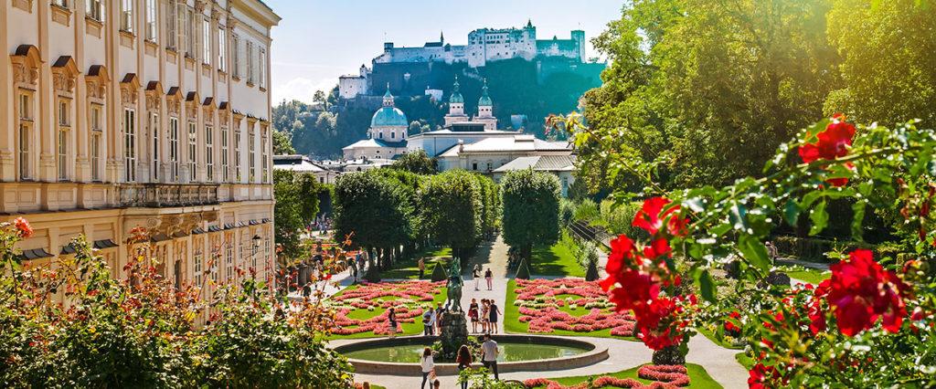 Pfandlinghof Grossarl, Ausflugsziele Salzburger Land, Mirabellgarten Stadt Salzburg