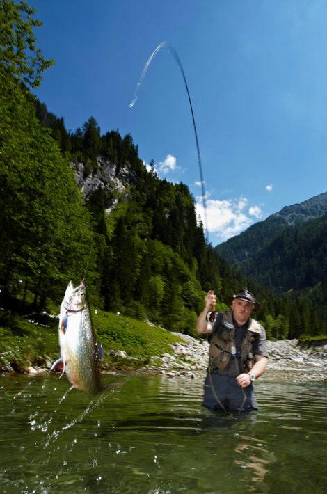 Pfandlinghof Grossarl, Fliegenfischen Grossarler Ache, Salzburger Land