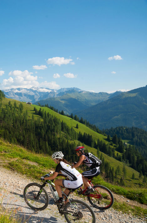 Pfandlinghof Grossarl, Mountainbiken im Tal der Almen, Sommerurlaub Grossarltal