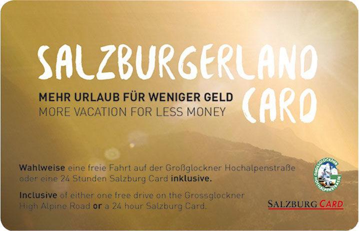 Pfandlinghof Grossarl Salzburgerland Card
