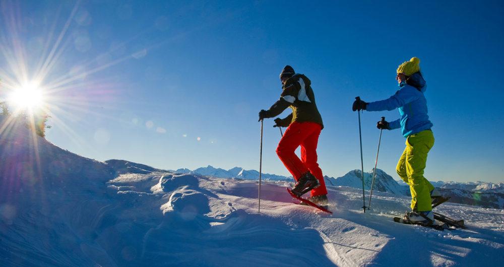 Pfandlinghof Grossarl, Schneeschuhwandern in Ski Amade, Winterurlaub Salzburger Land