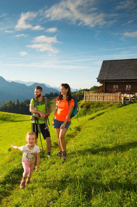 Pfandlinghof Grossarl, Sommerurlaub und Wanderurlaub, Familienurlaub im Tal der Almen