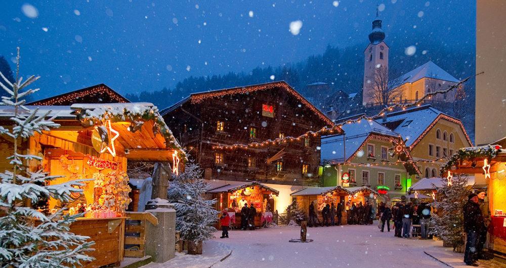 Pfandlinghof Grossarl, Winterurlaub in Österreich, Salzburger Bergadvent, Weihnachten im Ort